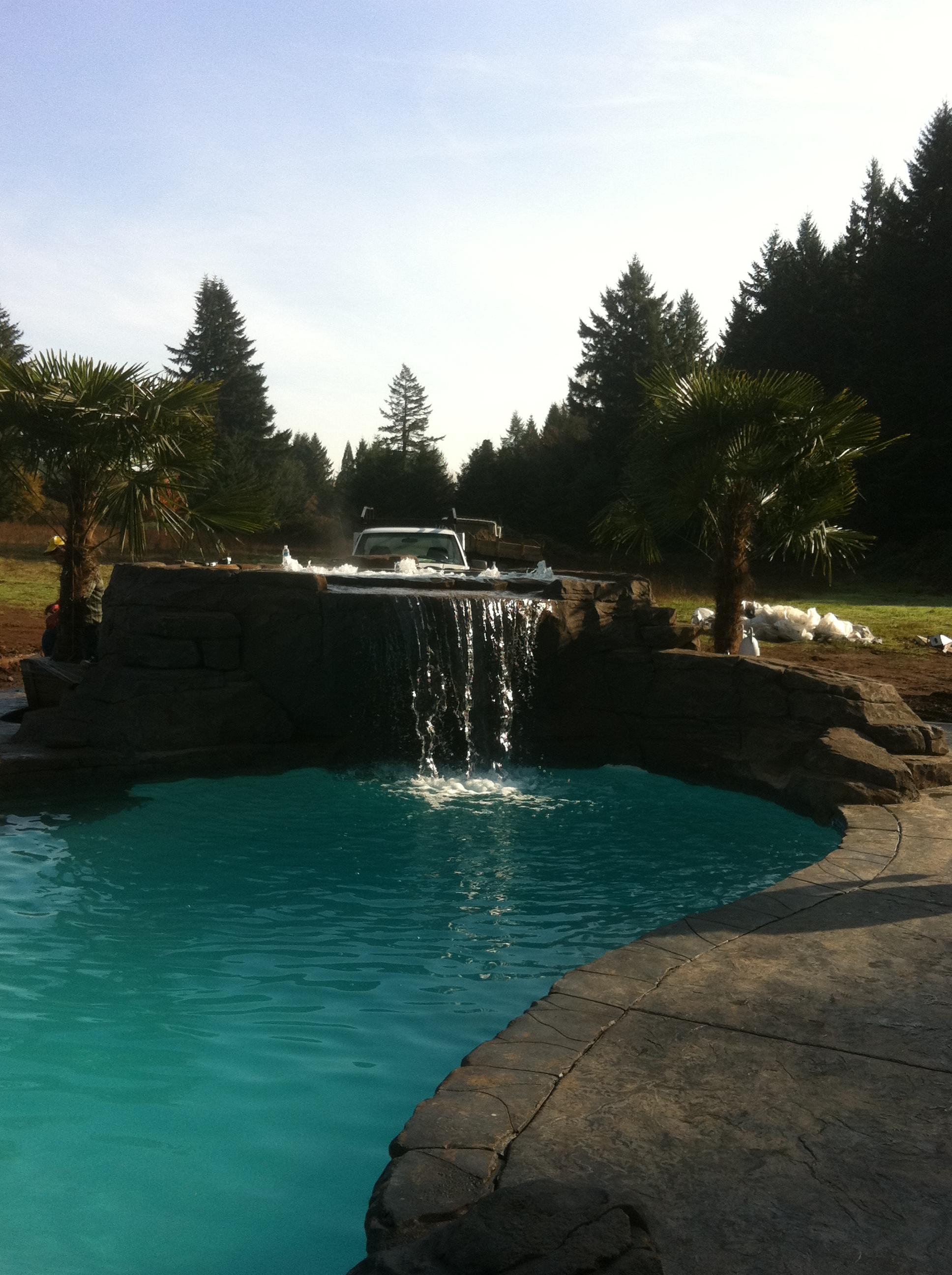 Portland Pool Plaster Custom Pools Spas 503 645 4329